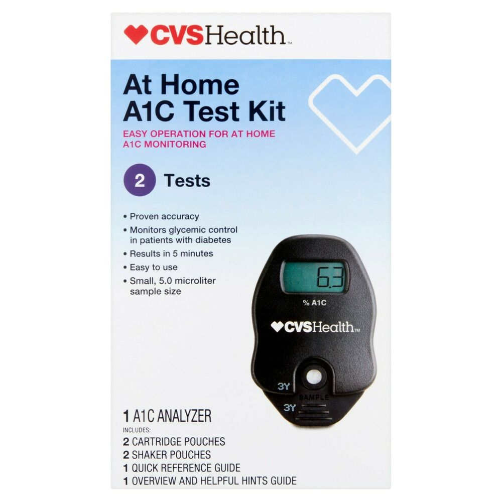 New Cvs At Home A1c Test Kit Easy To Use Guaranteed