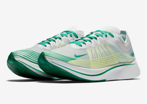 411e129710018 Details about New Mens Zoom Fly SP AJ9282 101 White Lucid Green Size 11.5  MSRP  150 RARE!