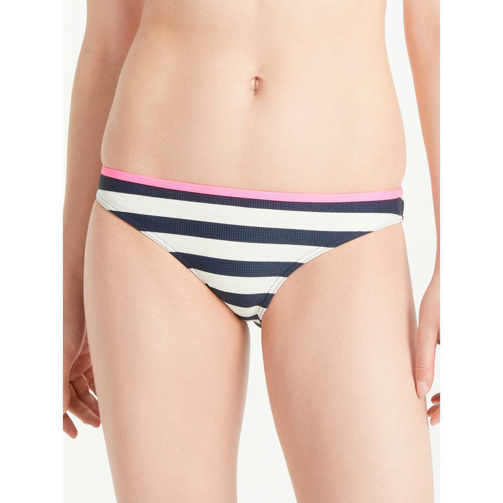 da082234a60dc Details about Ted Baker Stepzy Textured Striped Bikini Bottoms Size 1 uk 8