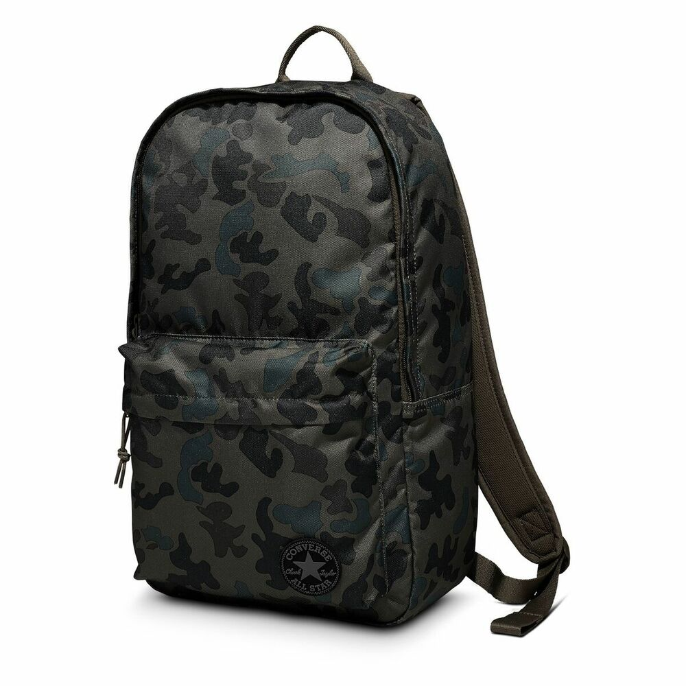 Details about Green Camouflage Converse All Star Backpack Rucksack School- bag 9c0b8ca280c3d