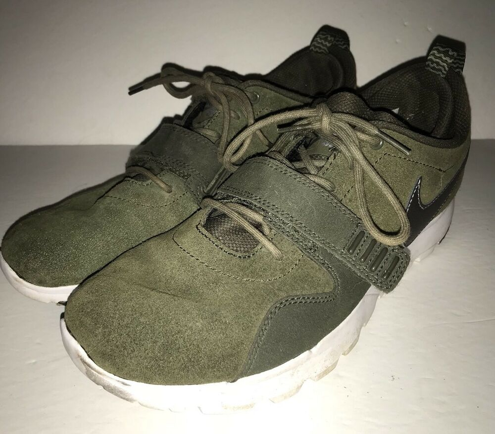 detailed pictures f2665 09254 Details about Nike SB Trainerendor L Skateboarding Shoes - 806309-301 -  KhakiGreen -SZ-10