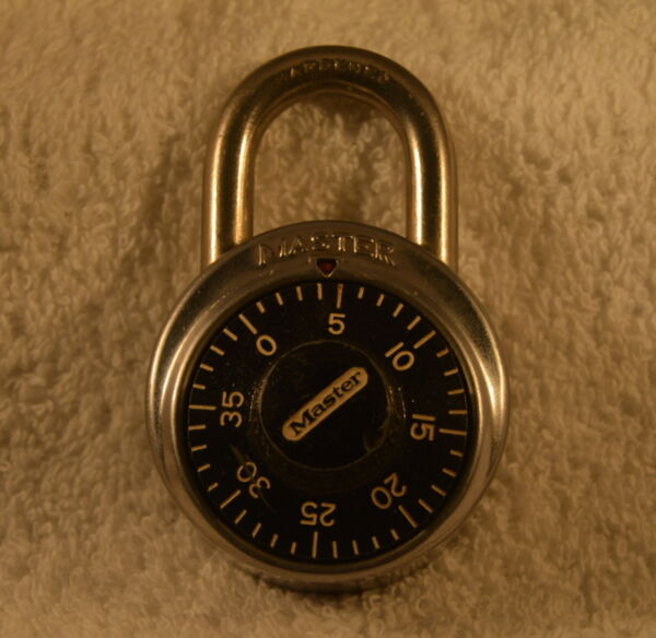 VINTAGE  - MASTER COMBINATION PADLOCK - WITH COMBO