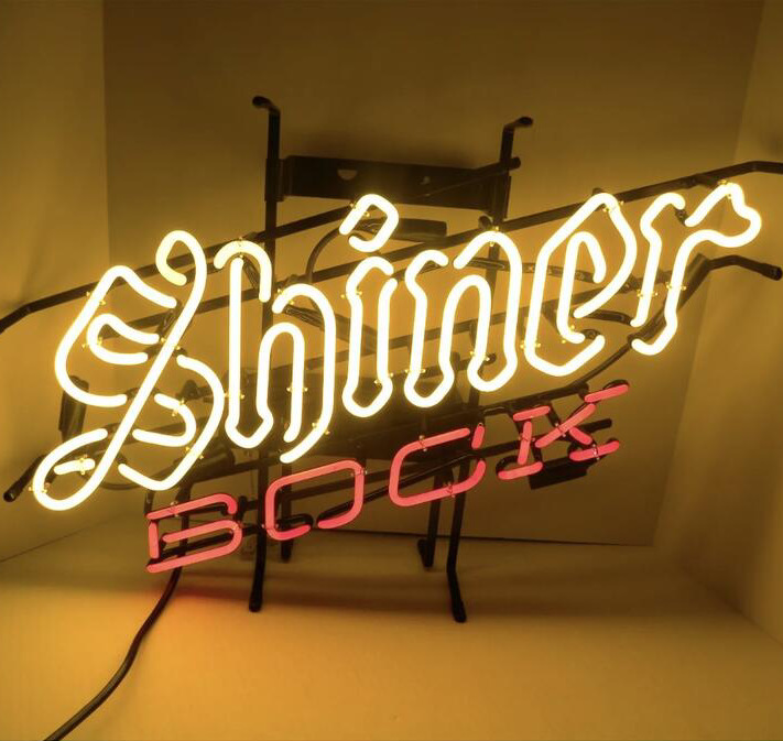Details about Neon Signs Gift Shiner Bock Beer Bar Pub Store Party Room Wall Decor 24X20