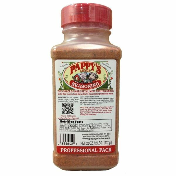 Pappys Choice Seasoning 32 Oz Professional Pack FREE SHIPPING