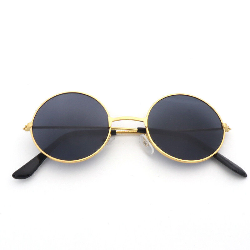 cedcb99f9a9 Details about John Lennon Style Sunglasses Round Retro Vintage Shades 60s  70s Hippie Glasses