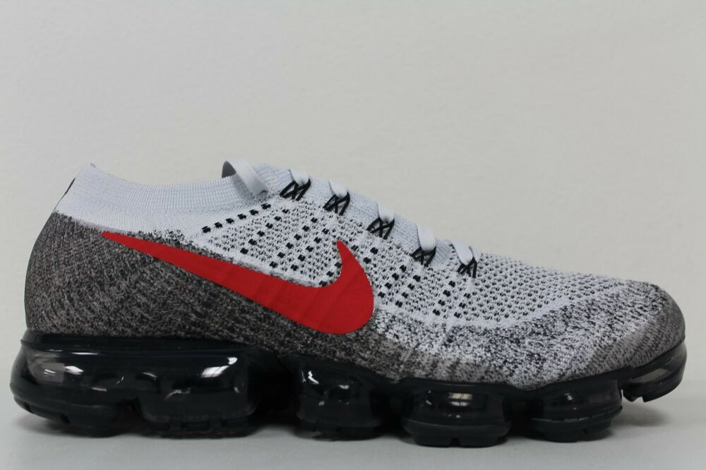 new products 5010c c762d Details about Nike Air Vapormax Flyknit OG Pure Platinum University Red  849558-020 Size 11.5