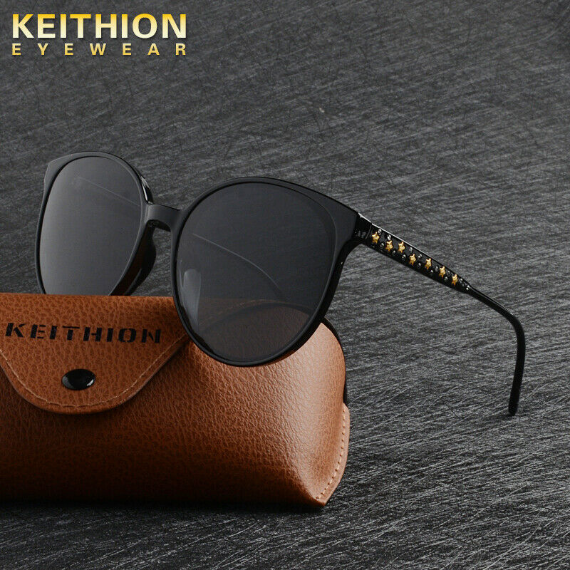 83e8d77c8e Details about KEITHION Womens Brand Designer Polarized Cat Eye Sunglasses  Oversized Eyewear