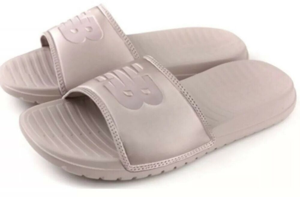 6b8725285070 Details about New Balance SD130RG Champagne Pink Sandals Sliders UK 4  Pool