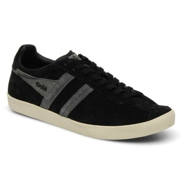 Chaussure Baskets basses Gola Trainer Suede Black Anthracite