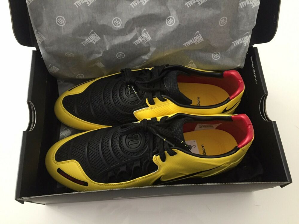 huge discount 37d60 736e7 Details about Nike T90 Laser I remake 2019 yellow total 90 11us total 90  rooney torres NEW