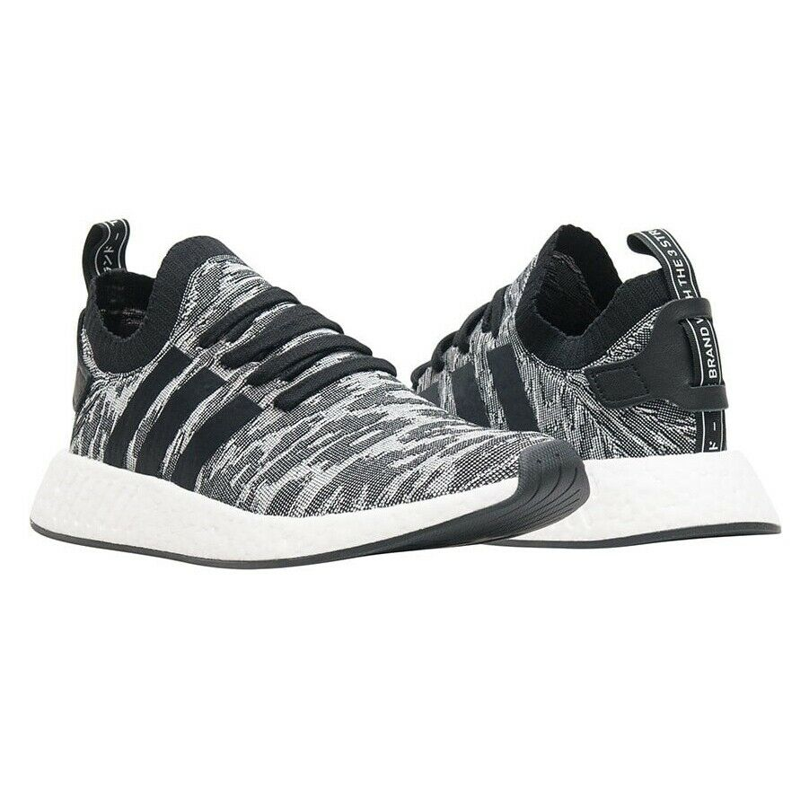 be925b5d63312 Details about Adidas Men s NMD R2 Black Primeknit Shoes Sneakers BY9409  Size 11 BRAND NEW NIB