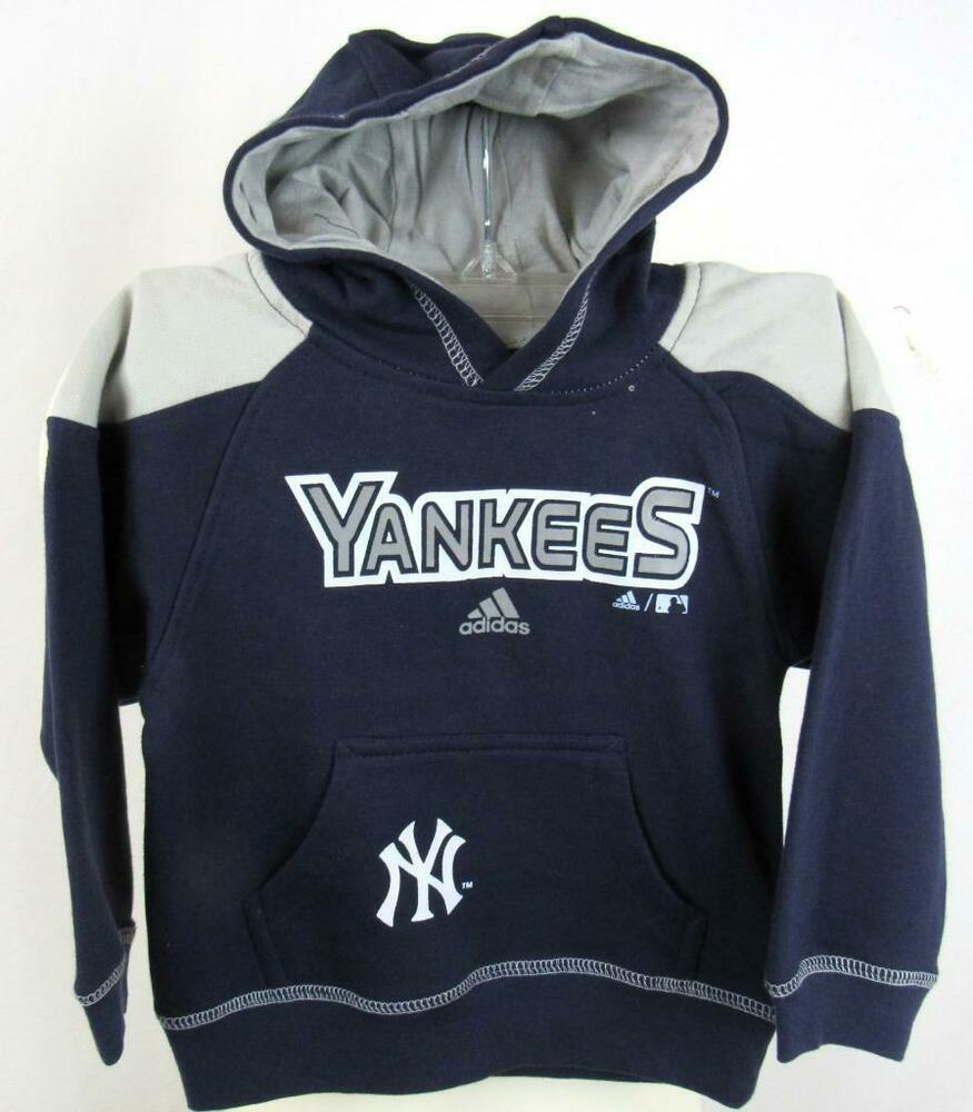 finest selection 6c3c2 3cb3f New York Yankees Toddler 2T or 3T Screened Pullover Hooded ...