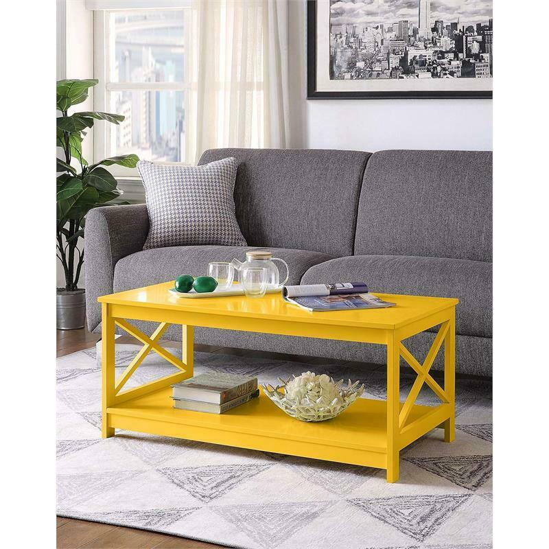 Magnificent Convenience Concepts Oxford Coffee Table 95285422784 Ebay Caraccident5 Cool Chair Designs And Ideas Caraccident5Info