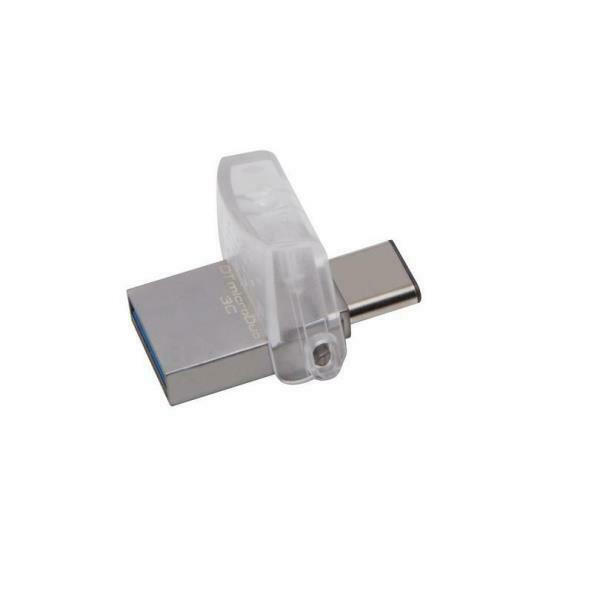 KINGSTON PENDRIVE DATATRAVELER 64GB USB 3.0 + TYPE C DTDUO3C/64GB