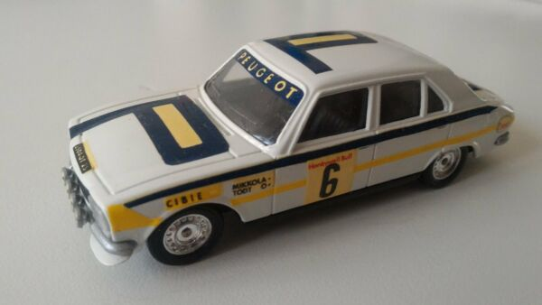 Peugeot 504 Rallye N°6 - scala 1/43 Solido (made in France)