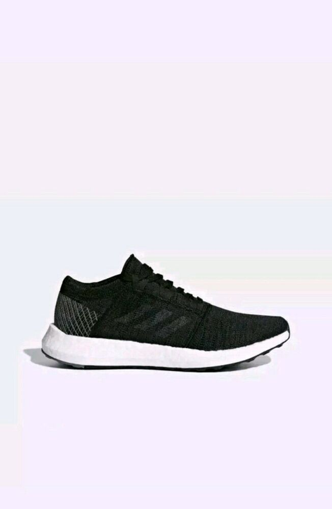 76a8b1042647a Details about New Women s Adidas PureBOOST GO Running Core Black Grey  B75665 Size 10