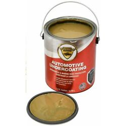 Woolwax Auto Undercoat.Gallon.The thickest lanolin Film available,  STRAW(color)