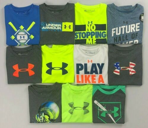 Boy's Toddler Under Armour Heat Gear Polyester Shirt