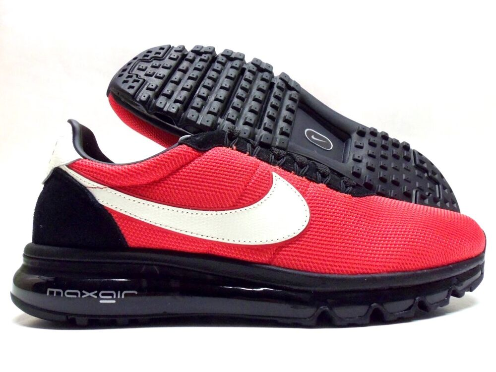 huge selection of f8b63 3dfdd NIKE AIR MAX LD-ZERO ID SPORE RED WHITE-BLACK SIZE MEN S 9