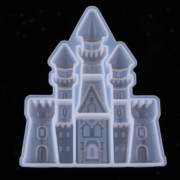Castle shapes Silicone Mold Fondant Cake Decor Tools Chocolate Mold