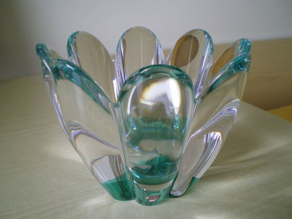 VASO CRISTALLO  -  ORREFORS SWEDEN  -  CRYSTAL  -  GLASS