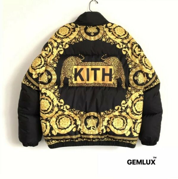 VERSACE x KITH Medusa Reversible Full-Zip Down Jacket Size 52 - XL