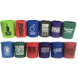New Unique Funny Soda Can, Beer Can Drink Coolers Insulator, 6ct