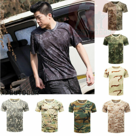 img-Tactics Men Tactical Quick Dry T-shirt Hunting Camouflage Combat Tee Shirt TOP