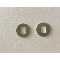 (2) For Newell Stainless Steel Handle Washer 631, 636, 641 & 646