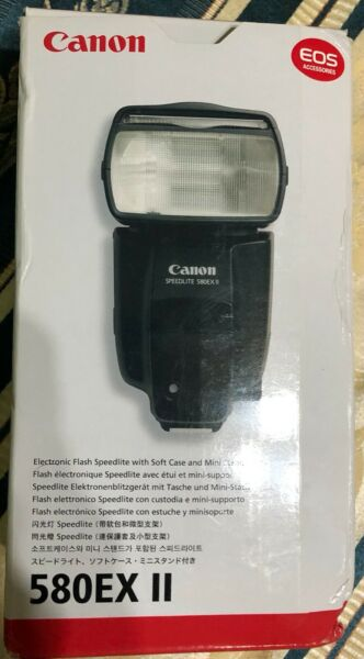 Canon Speedlite Flash 580EX II