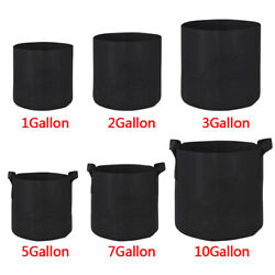 Kyпить 10 20 Pack Fabric Grow Pots Aeration Plant Planter Bags Root Garden Container на еВаy.соm