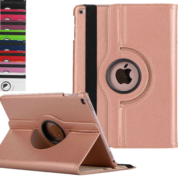 New iPad 360 Rotating Stand Case Cover for Apple iPad 7th Generation 2019 10.2