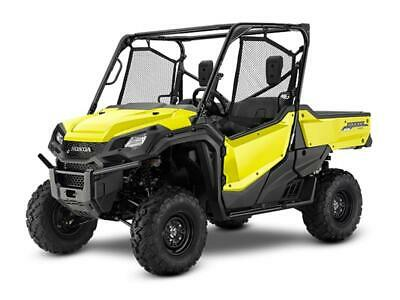 NEW 2019 HONDA PIONEER 1000 3 SEAT POWER STEERING SXS1000 YELLOW BLOWOUT SALE!!
