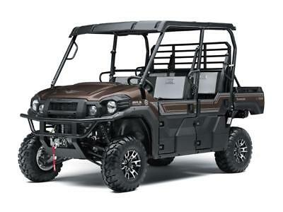 NEW 2019 KAWASAKI MULE PRO FXT RANCH EDITION 6 SEAT POWER STEERING 4X4 SALE!!
