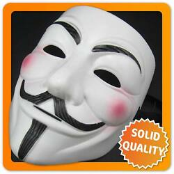 Kyпить Guy Fawkes Maske V wie Vendetta Mask ACTA Occupy Anonymous Cosplay Halloween на еВаy.соm