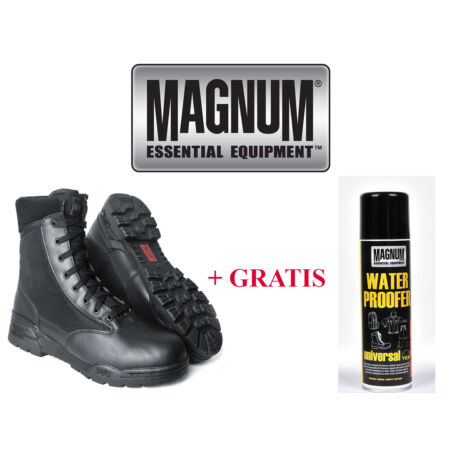 img-Magnum Hi-tec Leather Classic Boots Police Boots Army Boots Combat Boots 36-48