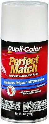 Duplicolor BTY1556 For Toyota Code 040 Super White II 8 oz. Aerosol Spray Paint