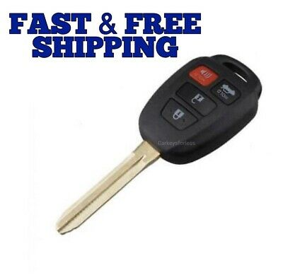 for Toyota Camry Corolla 2014 2015 2016 2017 2018 Remote Key Fob H Chip HYQ12BEL