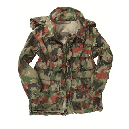 img-Swiss Army Issue Alpenflage Mountain Loadbearing Jacket Grade 1 M to XXL