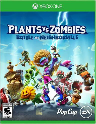 Plants Vs Zombies Battle for Neighborville - Xbox One Games 2019 Sealed New