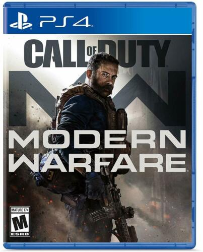 Call of Duty Modern Warfare PlayStation 4  ( 2019 PS4 Games Sealed New )