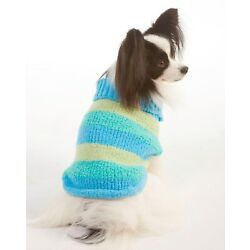 NEW Blue / Green Lookin' Good Turtleneck Dog Sweater Clothing (Pick LG or XL)
