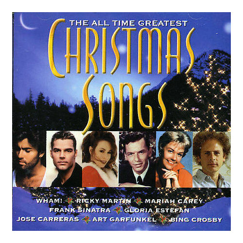 VARIOUS ARTISTS - The All-Time Greatest Christmas Songs (2-CD, 1999, Columbia)