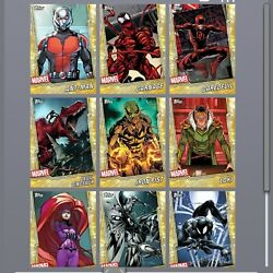 Kyпить Topps Marvel Collect COMPLETE Teal Tier 6 Gold Tier 8 WITH AWARDS Symbiote RARE на еВаy.соm
