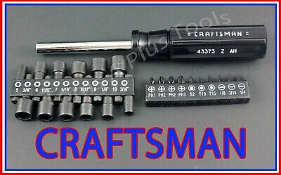 CRAFTSMAN HAND TOOLS 23pc Magnetic Torx Handle Screwdriver / Nut driver set  !!