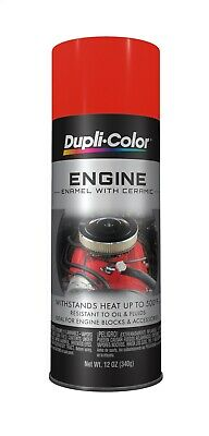 Duplicolor DE1607 Chevrolet Orange Red Motor Engine Spray Paint Aerosol 12oz.