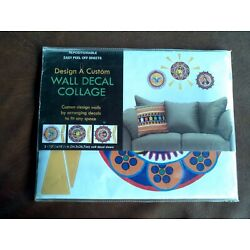 Wall Decal Collage Repositionable Easy Peel Off Sheets