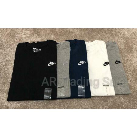 img-Nike Crew Neck Short Sleeve Sports Top Mens T-Shirt - Clearance SALE