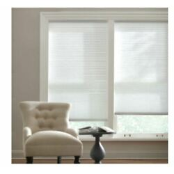 ASSORTED SIZES Snow Drift Cordless Light Filtering Cellular Shade (PLEASE READ)
