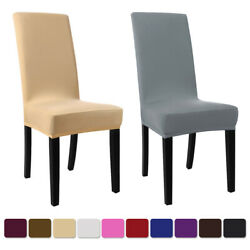Kyпить Spandex Stretch Banquet Chair Covers Seat Slipcovers Dining Room Wedding  на еВаy.соm